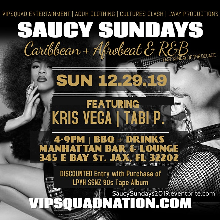 Saucy Sundays 2019 Decade Finale: Afrobeat + R&B image