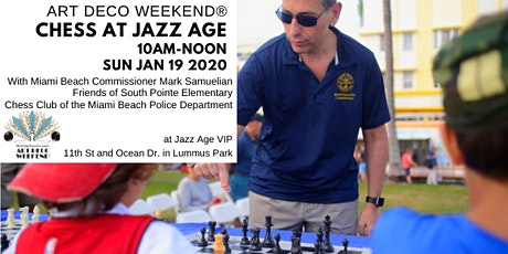 Chess with Commissioner Mark Samuelian @ Art Deco Weekend 2020 tickets