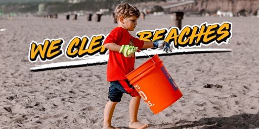 We Clean Beaches Beach Clean Up w/ AJ Animal King