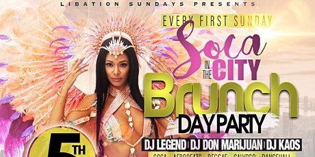 SOCA IN THE CITY BRUNCH & DAY PARTY tickets