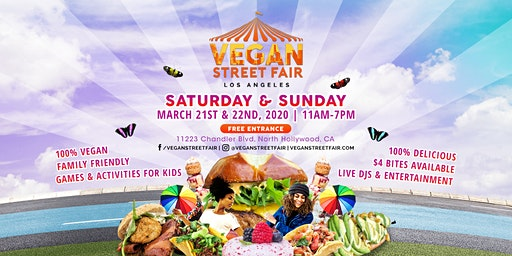 Premium Passes for Vegan Street Fair 2020
