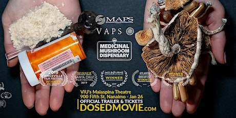 DOSED with Q&A at VIU's Malaspina Theatre - Nanaimo -one day only! (6:30pm) tickets
