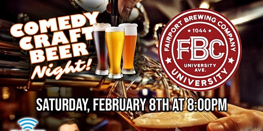 Comedy Craft Beer Night Returns!