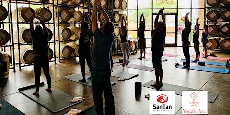Sunday Yoga inside San Tan Brewery's Production Facility tickets