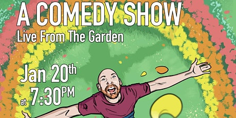 Brendan Ryan presents a comedy show. Live from the garden tickets