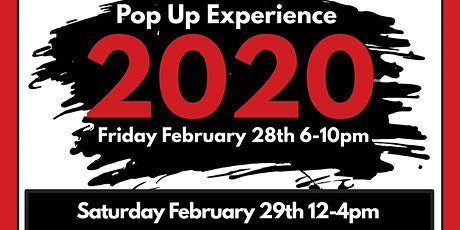 Black Friday and Saturday! The PopUp Experience! tickets