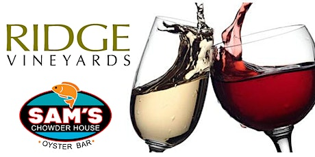Ridge Wine Lover's Dinner - SOLD OUT tickets