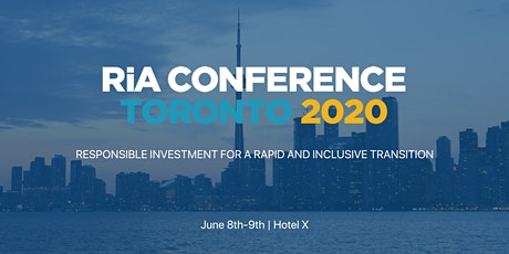 RIA Conference 2020 tickets