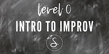 FREE Intro to Improv Class tickets