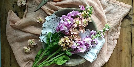 British Flowers Week Workshop with Carol's Garden