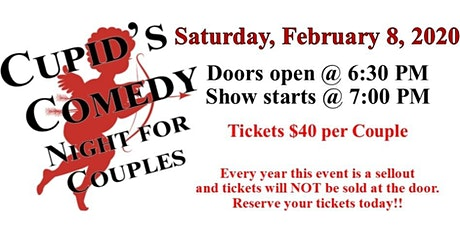 Cupid's Comedy Night 2020 tickets