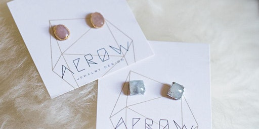 Moonstone Earrings with Aerow