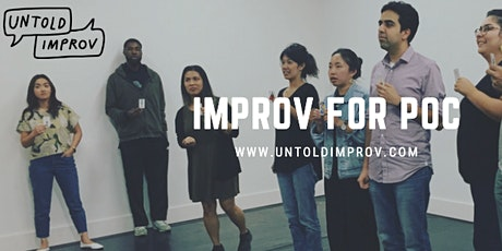 FREE Improv for People of Color Workshop (3/12) tickets