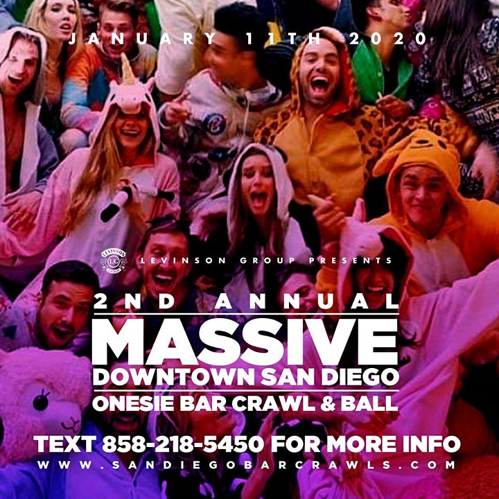 2nd Annual Downtown Onesie Ball Part 2 image