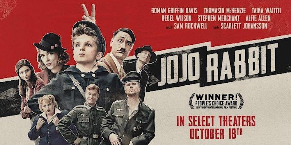 Jojo Rabbit Poster >> Jojo Rabbit Tickets Wed Jan 1 2020 At 6 00 Pm Eventbrite