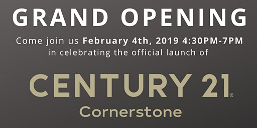 *Invite Only* Grand Opening of CENTURY 21 Cornerstone