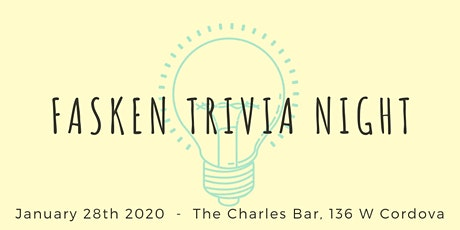 Fasken Trivia Night tickets