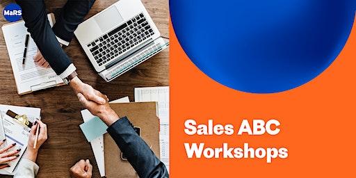 MaRS Sales ABC Workshops – January 16, 24 and 31 (Jan-2020)