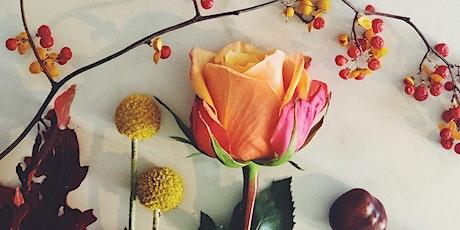 Autumn Seasonal Vase Design tickets