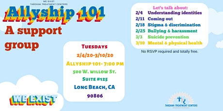 Allyship 101: Support for those who care for LGBTQI2-S young folks (LB) tickets