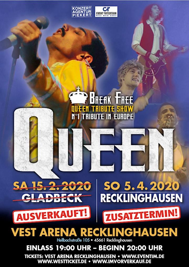 Break Free – No. 1 QUEEN Tribute Show in Europe +++Zusatztermin+++: Bild