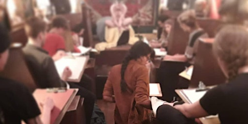 Life drawing @ Black Dove every Wednesday