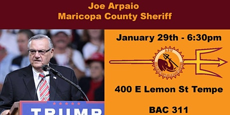 Meeting: Joe Arpaio tickets