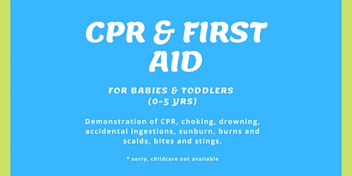 CPR & First Aid for Babies & Toddlers