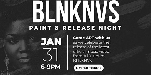 Paint the Town A.I. The Anomaly's BLNKNVS paint & release party