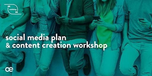 Social Media Plan & Content Creation Workshop - 19 February 2020