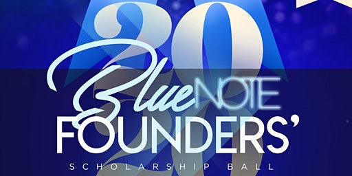 Gamma Beta Sigma - Blue Note: 2020 Founders' Scholarship Ball