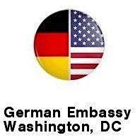 German Embassy Washington, DC logo