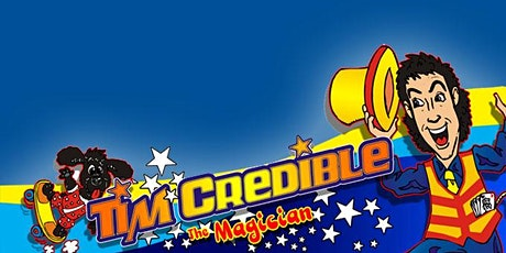 Tim Credible the Magician All ages, FREE tickets