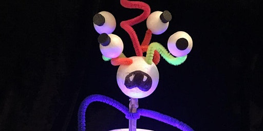 RANDWICK PUPPET FESTIVAL 2020 – Monster Peek-a-boo Puppet Workshop