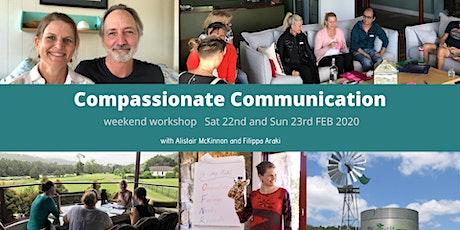 Compassionate Communication Weekend Workshop (Sat 22 & Sun 23 Feb) tickets
