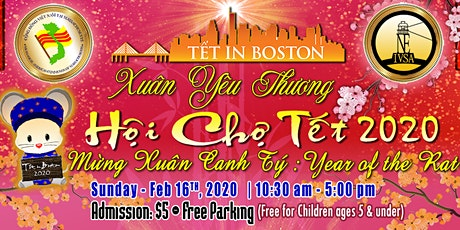 Tet In Boston Day Festival 2020 - Vietnamese New Years 2020 (BC High) tickets
