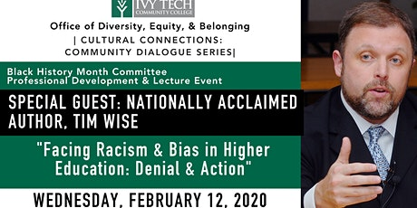 """Ivy Tech Presents Tim Wise: """"Facing Racism & Bias in Higher Education"""" tickets"""