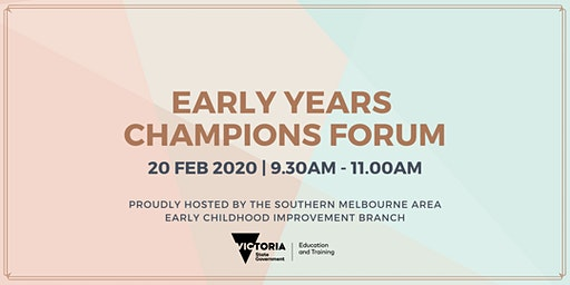 Early Years Champions Forum
