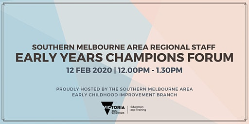 SMA Regional Staff Early Years Champions Forum