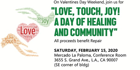 Love, Touch, Joy!  A Day of Healing and Community tickets