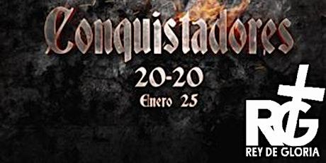 Conquistadores 20-20 boletos