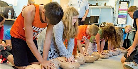 CPR class for kids