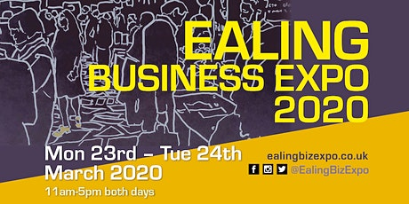 Ealing Business Expo: Mon 23 - Tue 24 March 2020 tickets