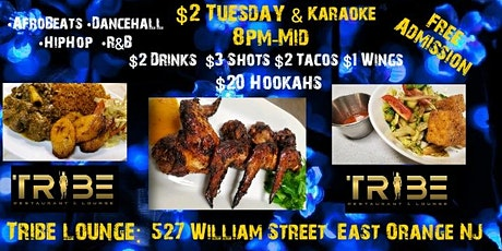 $2 Dollar Tuesdays w/Karaoke & Hookahs tickets