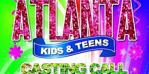 The Atlanta Kids & Teens Model Casting.