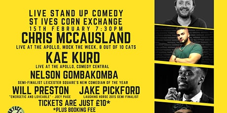 Live Stand up Comedy with Chris McCausland and Kae Kurd tickets
