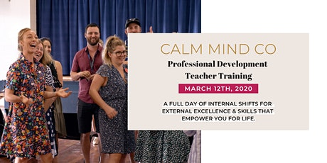 Calm Mind Co. - Professional Development Teacher Training tickets