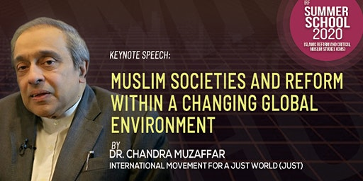 Keynote Speech by Dr Chandra Muzaffar in IRF's Summer School 2020