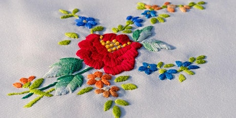 Freestyle Embroidery Project for Adults tickets