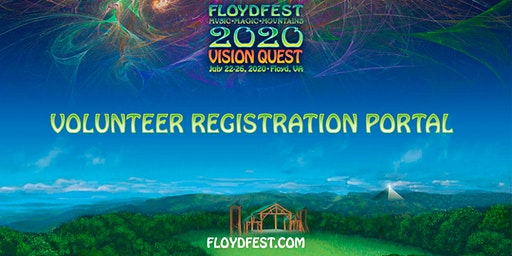 FloydFest 2020~Vision Quest Volunteer Registration Portal